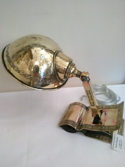 Antique Clip on Lamp